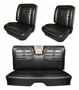 1963 Impala Ss Front Bucket Rear Bench Seat Upholstery Your Choice Of Color