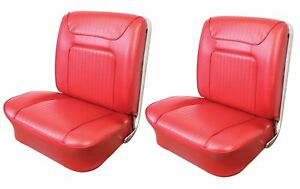 1964 Impala Ss Front Bucket Seat Upholstery In Your Choice Of Oem Color