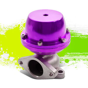 Turbo Charger Manifold Exhaust Purple Non V band External Wastegate 8 Psi Spring