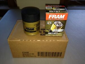 Six 6 Fram Ultra Synthetic Xg7317 Oil Filter Case Fits M1 110 Pl14610 10 2867