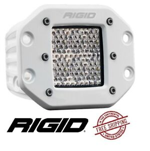 Rigid Industries D series Pro Flush Mount Led Light Flood Diffused White