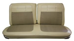 1962 Impala Coupe Front Bench Seat Upholstery In Your Choice Of Oem Color