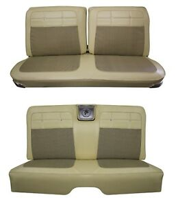1962 Impala Coupe Front Rear Bench Seat Upholstery In Your Choice Of Color