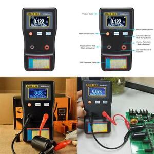 Auto Ranging Circuit Esr Lcr Meter Capacitor Low Ohm Capacitance Tester Electric