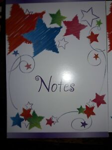 5 X 7 Note Pads Lot 25 Pages Each 110 Total Pads