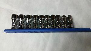 Gear Wrench Chrome Metric Flex Socket Set