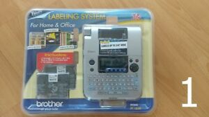 Brother P touch Pt 1830c Desktop Office Labeling System Item 298054 New Sealed
