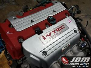 02 05 Honda Civic Type R Ep3 2 0l Ivtec 4cyl Engine Jdm K20a Free Shipping