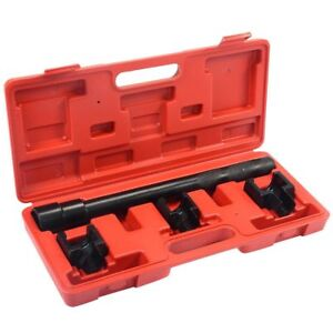 Inner Tie Rod Removal Installation Tool Set Mechanics Kit Dual Repair Tool Case