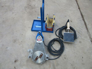 Central Bs4 Pipe Fusion Machine Facer And Heater Package Mcelroy Plastic Fuser
