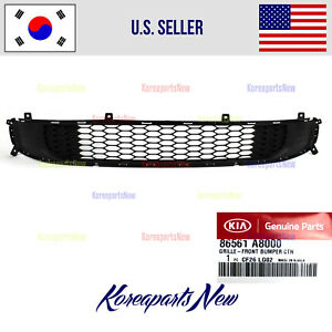 Front Bumper Grille Lower 86561a8000 Kia Optima Hybrid Only 2017 2018