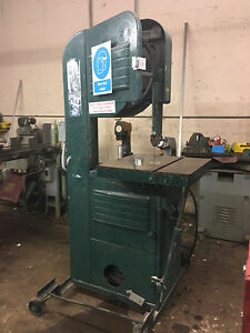 Vertical Band Saw 20 Throat Variable Speed Metal Cutting doall Walker