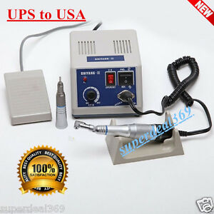 Dental Lab Marathon N3 Electric Micro Motor W contra Angle Straight Handpiece Ce