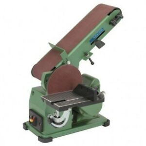 NEW! Belt Disc 34 HP 4 x 36 Grinder Miter Bevel Workshop Combination Sander