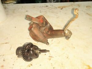 Farmall B Bn Tractor Engine Motor Governor Assembly Complete Ihc Part
