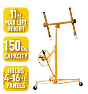 Heavy Duty Drywall Drywal Plywood Panel Lift Hoist Mover Dolly Cart With Wheels