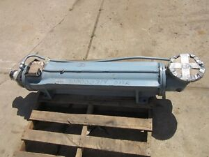 12d Delaval Imo Screw Pump A12db 312 Hydraulic Flow 313 Gpm 2200 Psi