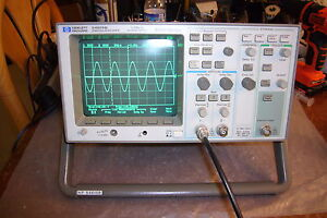Agilent Hp 54615b Digital Oscilloscope 500mhz 1gs s