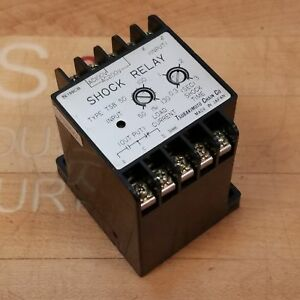 Tsubakimoto Chain Co Tsb 50 Shock Relay Ac 100 200v 50 Amp 3 3 Second Timer