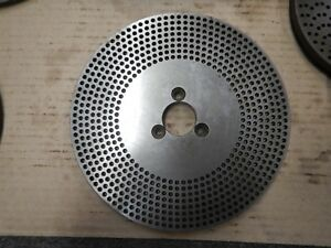 Index Plate For A Dividing Head Double Sided