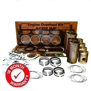 Engine Overhaul Kit Fits Nuffield 344 4dm Tractors With Leyland Bmc 3 4 Engine