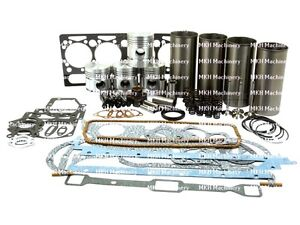Engine Overhaul Kit For Massey Ferguson 65 158 165 Tractors Ad4 203 With V t