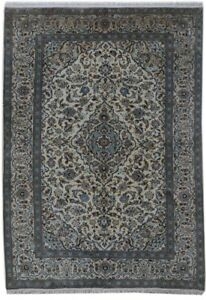 Hand Knotted None 10x14 Persian Kashan Rug Tribal Rugs Rug