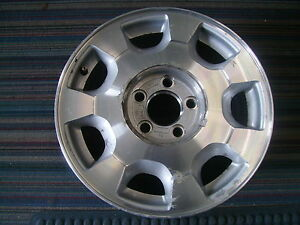 2001 2002 Cadillac Deville Factory Oe Wheel 4559