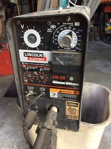 Lincoln Ln 25 Mig Welder Low Use Very Good Condition