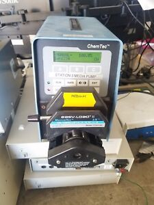 Scilog Chemtec Variable Speed Peristaltic Pump W Cole Parmer Head 77201 60
