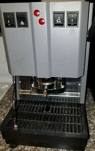 Spinel Ese Espresso Pod Machine Made In Italy And Manual