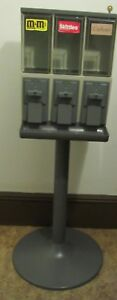 Triple Head Gumball Bulk Candy Machine Great Condition Clean Local Pick Up