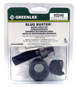 Greenlee 60246 Slug buster Knockout Punch Unit 1 7 32 inch