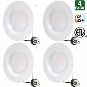 6 Inch Led Can Lights 15w 120w Replacement Retrofit Recessed Ul 4 No Tax Free