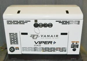 Vanair Viper G60 Gas Rotary Screw Air Compressor 150 Psig Max 60 Psig Free Air