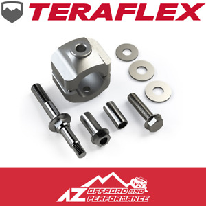 Teraflex Steering Stabilizer Relocation Kit Oem Tie Rod 07 18 Jeep Wrangler Jk