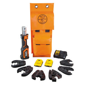 Klein Tools Bat20 7t14 Battery operated Cable Cutter And Crimper Kit