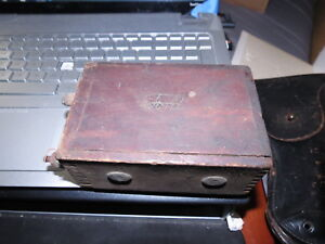 Antique Ford Model T Wooden Automotive Vibrator Ignition Coil Buzz Box Dovetail
