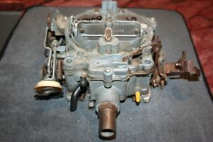 1969 Buick Skylark Gransport Gs Stage 1 Carburetor 7029241 4 Spd Rare