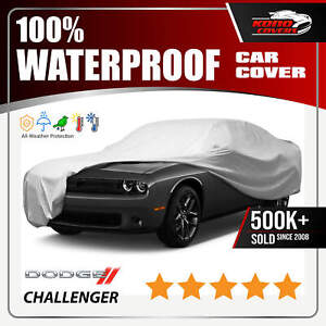 dodge Challenger Car Cover Ultimate Full Custom fit All Weather Protection