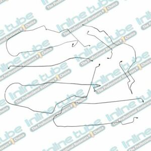 1995 2001 Chevrolet Lumina 4 Wheel Disc With Abs Preformed Brake Line Set 6pc Oe