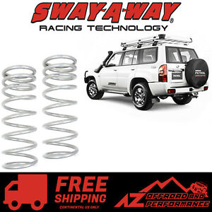 Sway A Way 1 5 2 0 Lift Rear Coil Spring Kit Pair For 97 17 Nissan Patrol Y61