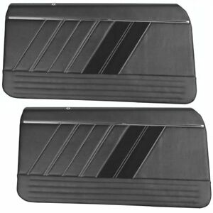 Sport R Door Panels Custom Made For 1969 Camaro By Tmi Made In The Usa
