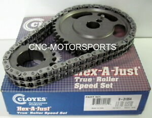 Cloyes 9 3135a Hex A Just True Roller Timing Chain Kit Sb Ford 289 302 351w
