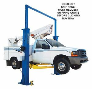 Titan 15 000lb Clear Floor Symetric Two Post Hydraulic Car Automotive Lift