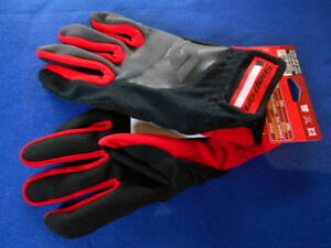 Snap On Mechanics Fastfit Utility High Dexterity Glove300m Red black Medium