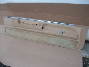 1983 1987 Buick Regal Monte Carlo Ss Cutlass Door Panel Interior Trim Lh Oem