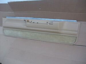 1983 1987 Buick Regal Monte Carlo Ss Cutlass Door Panel Interior Trim Rh Oem