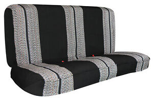 Blanket Truck Bench Seat Cover 1pcs Black Universal Fit For Chevy Ford Truck