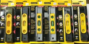 Lot Of 6 Stanley Torpedo Levels 42 191 42 465 New In Package